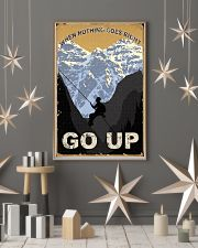 When Nothing Goes Right Go Up Climbing 11x17 Poster lifestyle-holiday-poster-1