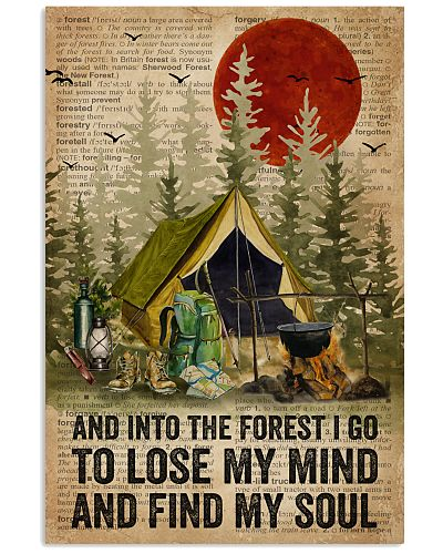 Dictionary And Into The Forest Camping