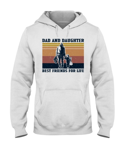 Retro Navy Best Friend Dad And Daughter Guitar