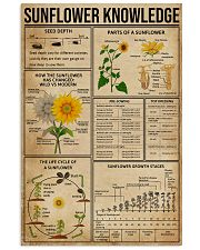 Sunflower Knowledge  11x17 Poster front