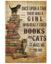 Books Cats Once Upon A Time 16x24 Poster front