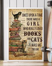Books Cats Once Upon A Time 16x24 Poster lifestyle-poster-4