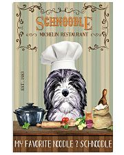 Schnoodle Michelin Restaurant And Dog 11x17 Poster front