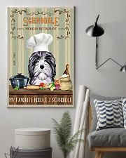 Schnoodle Michelin Restaurant And Dog 11x17 Poster lifestyle-poster-1