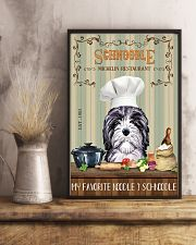 Schnoodle Michelin Restaurant And Dog 11x17 Poster lifestyle-poster-3