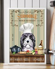 Schnoodle Michelin Restaurant And Dog 11x17 Poster lifestyle-poster-4