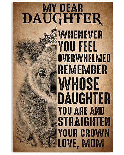To Daughter Straighten Your Crown Koala