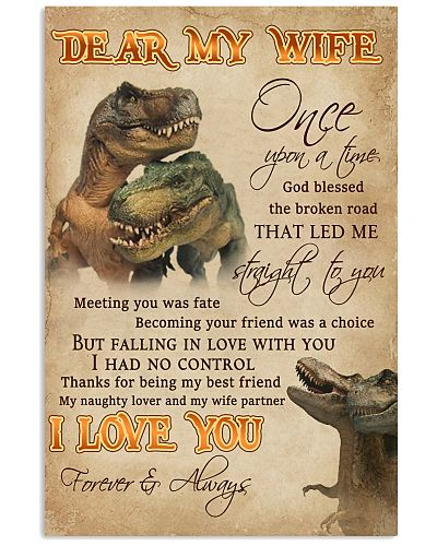 Dear My Wife Straight To You Dinosaur