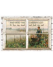 Window And Into The Garden 24x16 Poster front