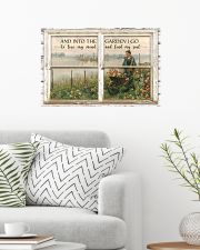 Window And Into The Garden 24x16 Poster poster-landscape-24x16-lifestyle-01