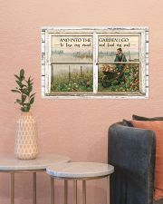 Window And Into The Garden 24x16 Poster poster-landscape-24x16-lifestyle-22