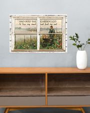 Window And Into The Garden 24x16 Poster poster-landscape-24x16-lifestyle-25