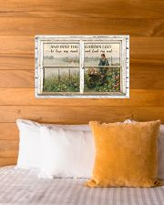 Window And Into The Garden 24x16 Poster poster-landscape-24x16-lifestyle-27