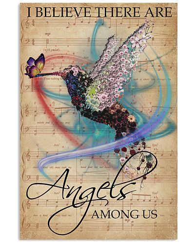 Music Sheet Angels Among Us Hummingbird