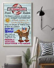 Bengal Cat Pool Rule  16x24 Poster lifestyle-poster-1