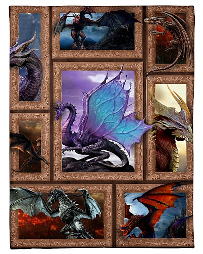3D Dragon Bedding