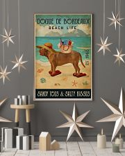 Beach Life Sandy Toes Dogue De Bordeaux 11x17 Poster lifestyle-holiday-poster-1