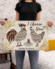 Personalized Chicken I Choose You 24x16 Poster poster-landscape-24x16-lifestyle-20