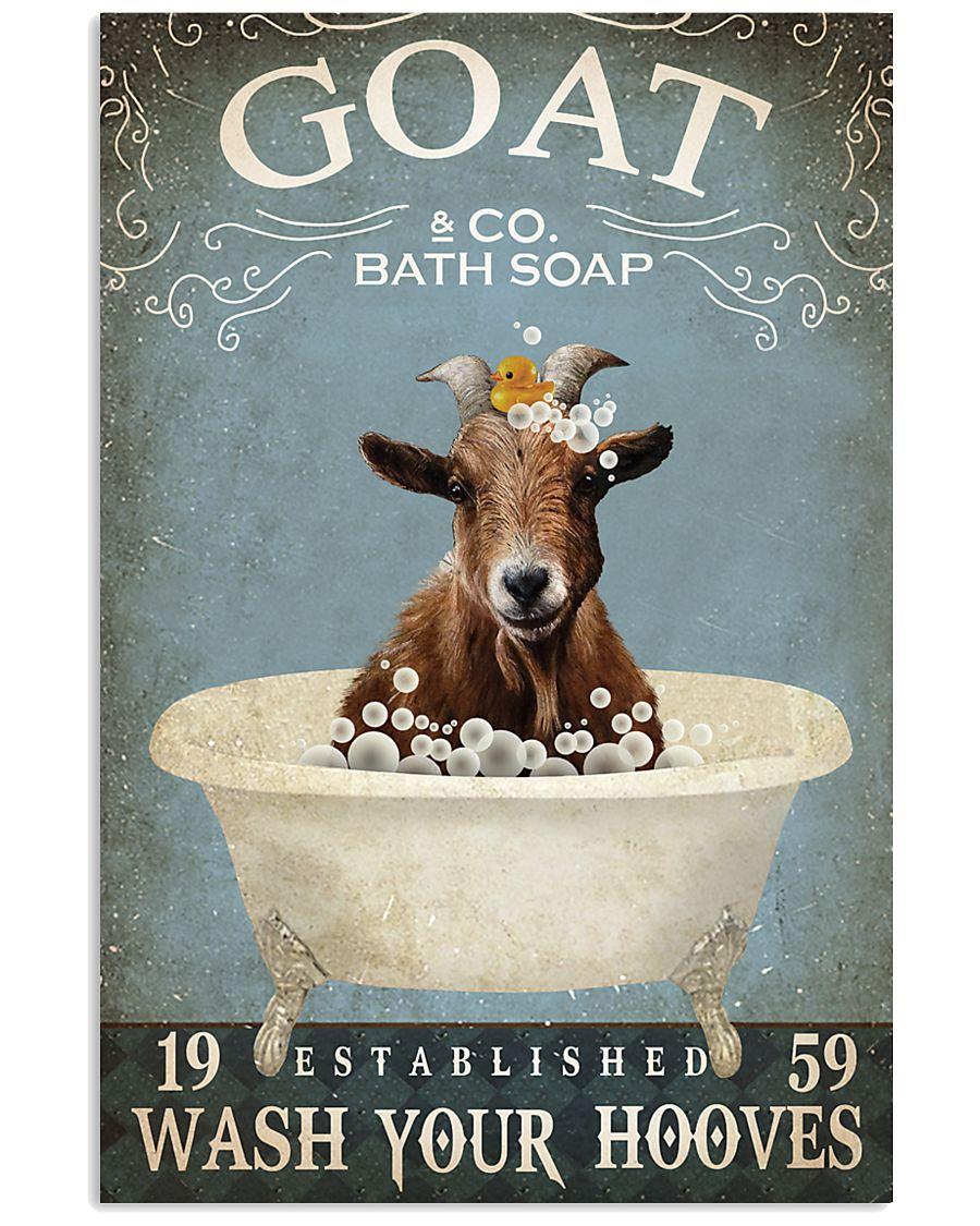 Vintage Bath Soap Goat 11x17 Poster
