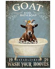Vintage Bath Soap Goat 11x17 Poster front