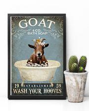 Vintage Bath Soap Goat 11x17 Poster lifestyle-poster-8