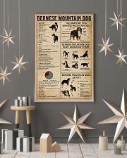 Bernese Mountain Dog Knowledge 11x17 Poster lifestyle-holiday-poster-1