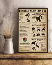 Bernese Mountain Dog Knowledge 11x17 Poster lifestyle-poster-3