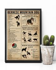 Bernese Mountain Dog Knowledge 11x17 Poster lifestyle-poster-8