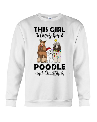 This Girl Loves Her Poodle