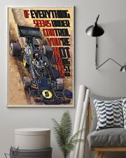 Racing Car If Everything Seems Under Control 16x24 Poster lifestyle-poster-1