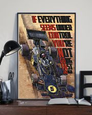 Racing Car If Everything Seems Under Control 16x24 Poster lifestyle-poster-2