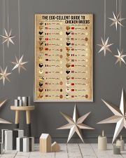 The Egg-Cellent Guide To Chicken Breeds 11x17 Poster lifestyle-holiday-poster-1
