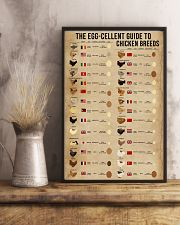 The Egg-Cellent Guide To Chicken Breeds 11x17 Poster lifestyle-poster-3