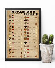 The Egg-Cellent Guide To Chicken Breeds 11x17 Poster lifestyle-poster-8
