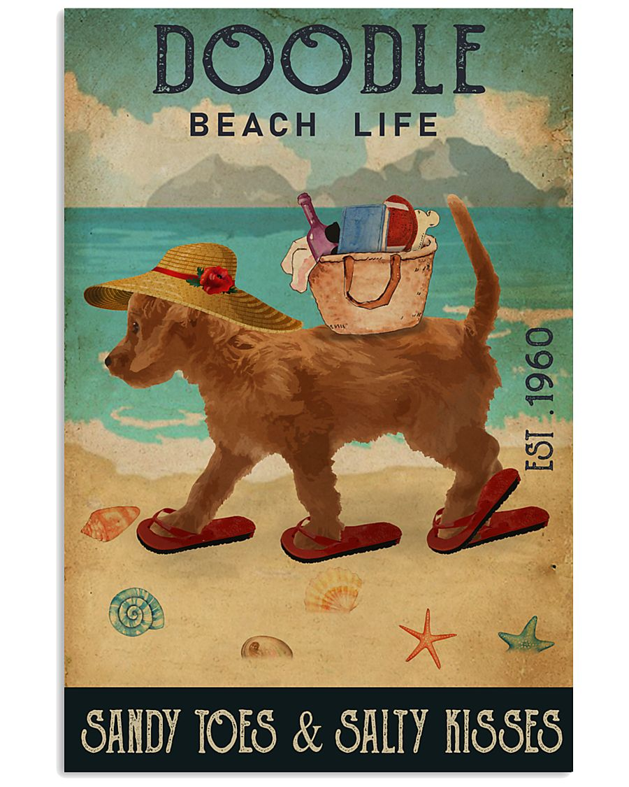 Beach Life Sandy Toes Doodle 11x17 Poster