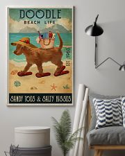 Beach Life Sandy Toes Doodle 11x17 Poster lifestyle-poster-1
