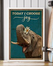 Today I Choose Joy Elephant 16x24 Poster lifestyle-poster-4