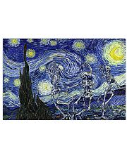 Starry Night Dance Skeleton 17x11 Poster front