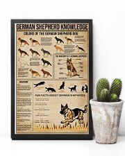 Knowledge German Shepherd 11x17 Poster lifestyle-poster-8