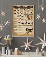 Knowledge German Shepherd 16x24 Poster lifestyle-holiday-poster-1