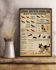 Knowledge German Shepherd 16x24 Poster lifestyle-poster-3