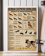 Knowledge German Shepherd 16x24 Poster lifestyle-poster-4