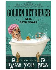 Green Bath Soap Company Golden Retriever 11x17 Poster front
