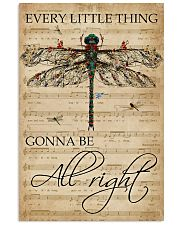 Music Sheet Every Little Thing Dragonfly 11x17 Poster front