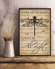 Music Sheet Every Little Thing Dragonfly 11x17 Poster lifestyle-poster-3