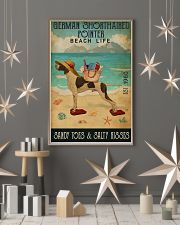 Beach Life Sandy Toes German Shorthaired Pointer 11x17 Poster lifestyle-holiday-poster-1
