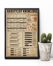 Knowledge Hairstylist 11x17 Poster lifestyle-poster-8