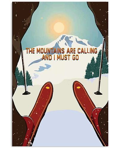The Mountains Are Calling Skiing