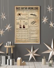 Bass Guitar Knowledge Instrument 11x17 Poster lifestyle-holiday-poster-1
