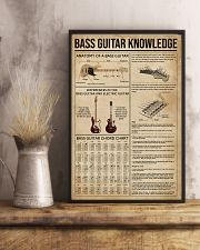 Bass Guitar Knowledge Instrument 11x17 Poster lifestyle-poster-3